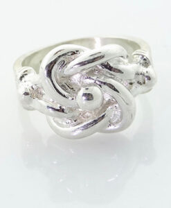 Sterling Silver Knot Ring 10.4g