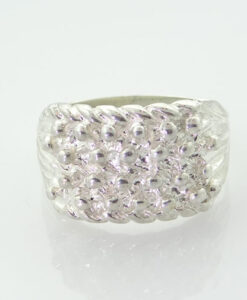 Sterling Silver Keeper Ring 6.1g