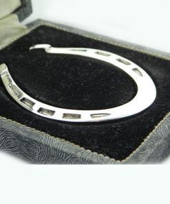 Vintage 1958 Sterling Silver Horseshoe Napkin Serviette Ring