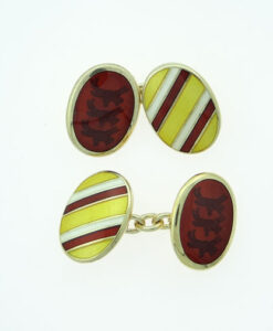 Sterling Silver GOODWOOD Cufflinks by Alabaster and Wilson