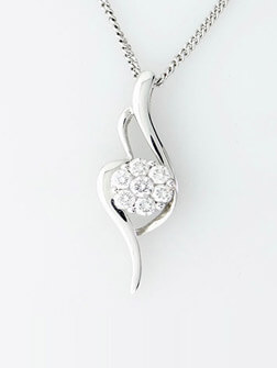 White Gold Pendants Uk