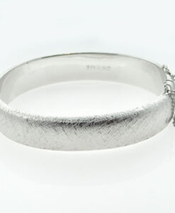 Vintage Sterling Silver Bangle dated 1968