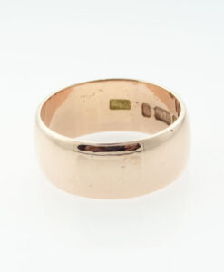 9ct Rose Gold Wedding Ring Band